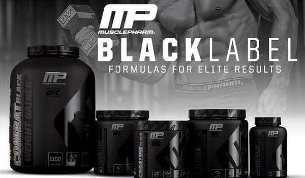 MusclePharm - Combat Black Weight Gainer (5 Lbs) - mpblack