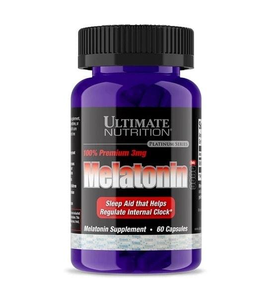 Ultimate Nutrition - Premium Melatonin (60 viên) - mrla