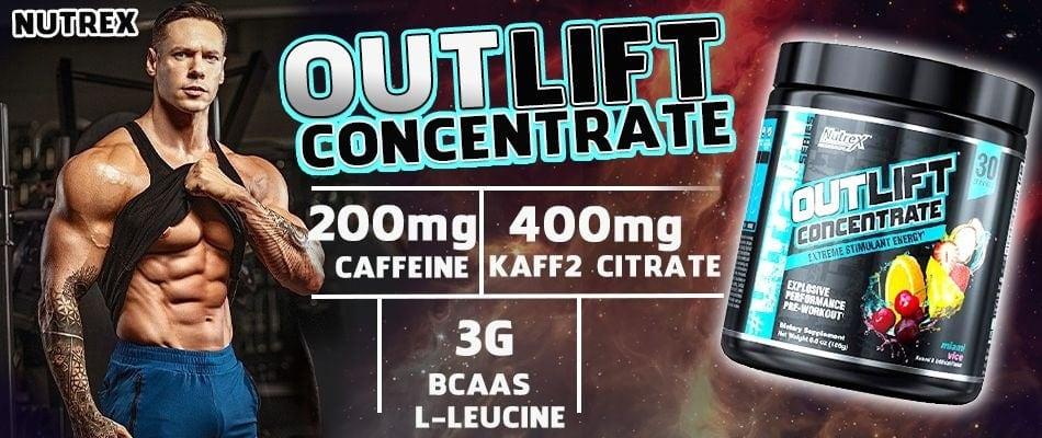 Nutrex - Outlift Concentrate (30 lần dùng) - nutrex outlift concentrate tang