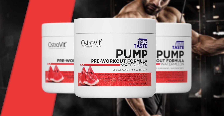 OstroVit - PUMP Pre-Workout (300g) - ostrovit pump pre workout mo ta