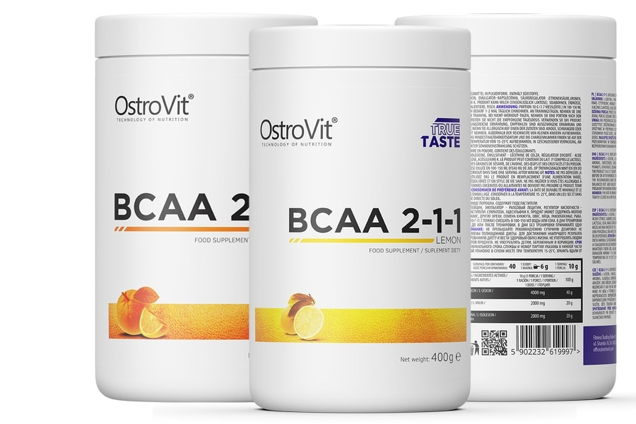 OstroVit - BCAA 2-1-1 (400g) - pol pl ostrovit bcaa 2 1 1 400 g