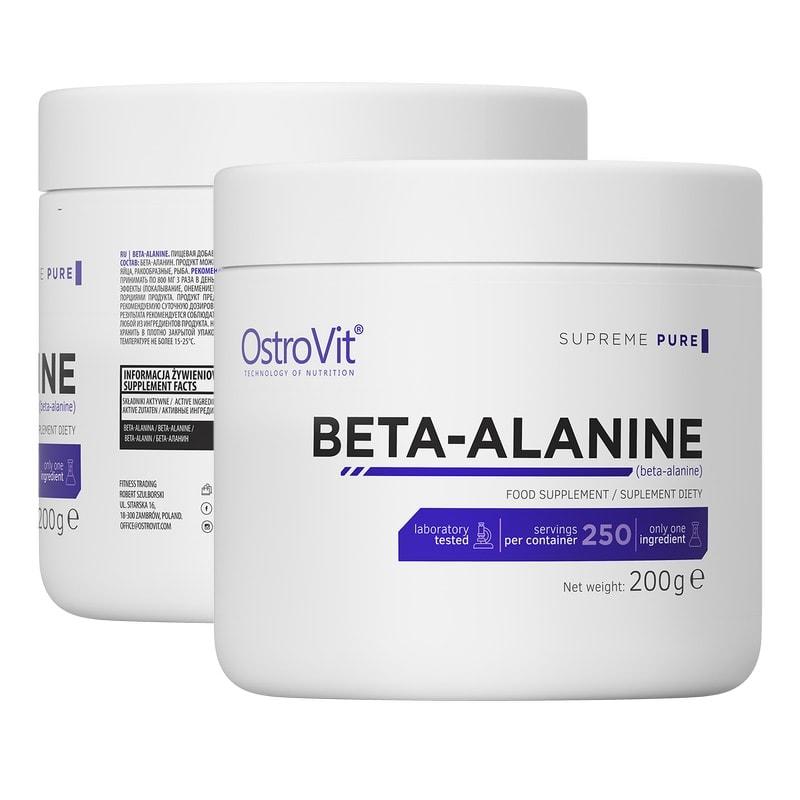OstroVit - Beta-Alanine (200g) - pol pl ostrovit beta alanine 200 1 1
