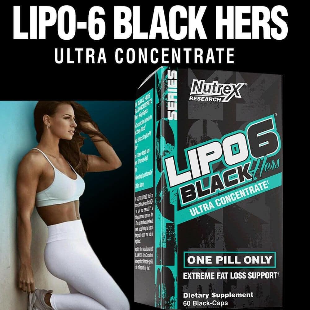 Nutrex - Lipo-6 Black Hers UC (60 viên) (Tem BBT) - s l1600 1