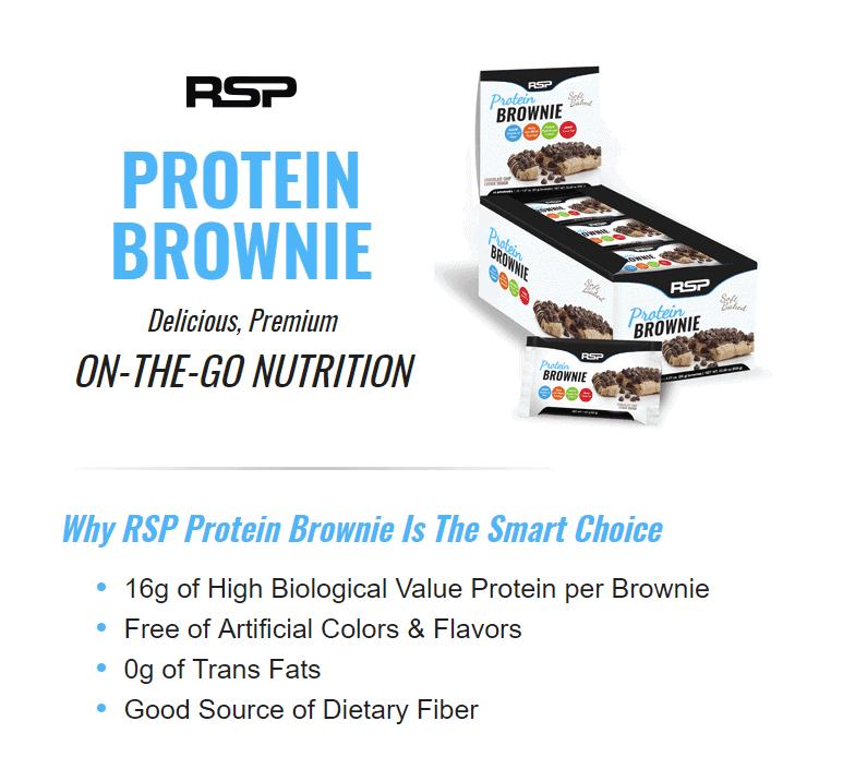 RSP - Protein Brownie - 1 5