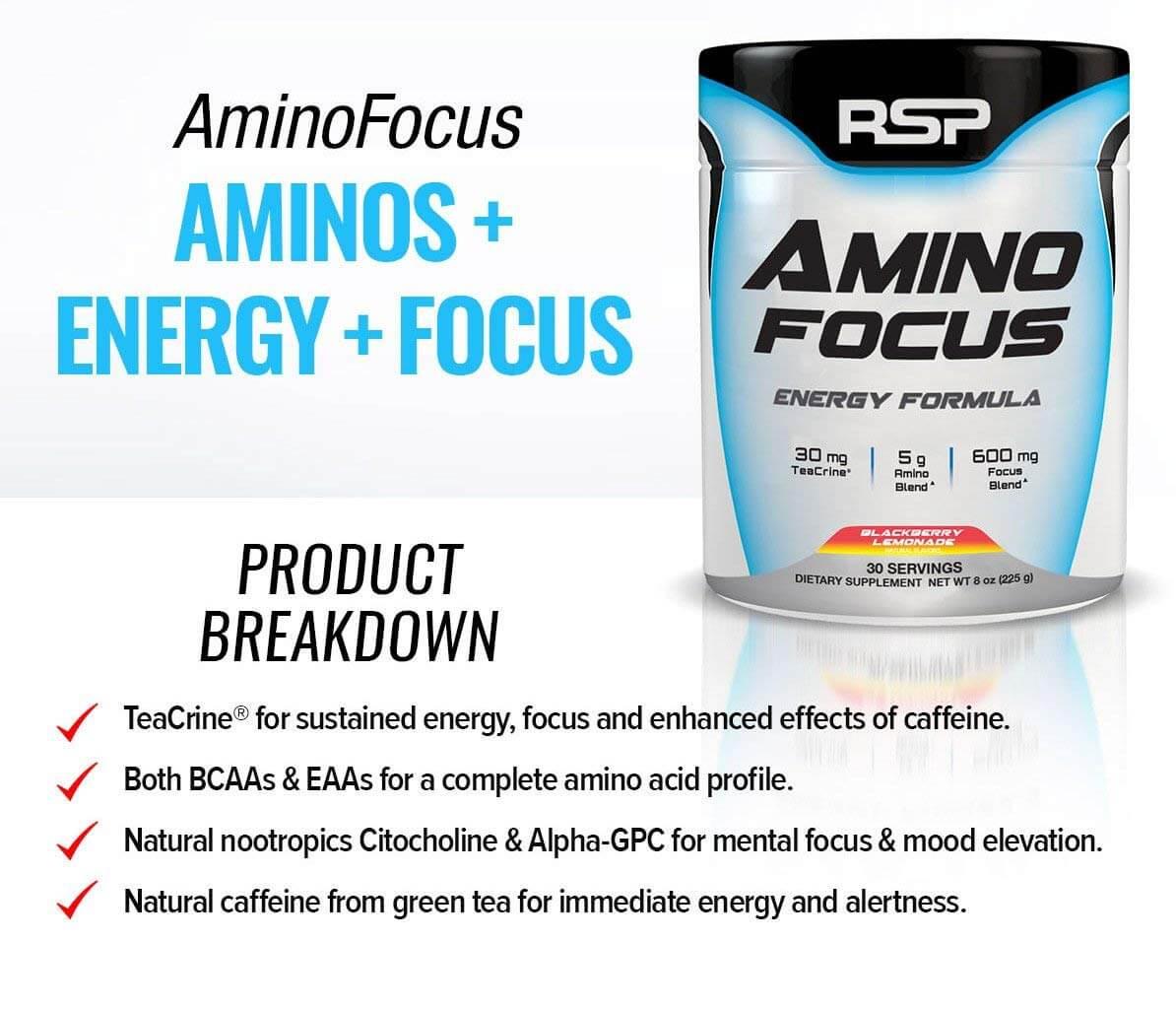RSP - AminoFocus Energy Formula (30 lần dùng) - 71fw7kusbl sl1194