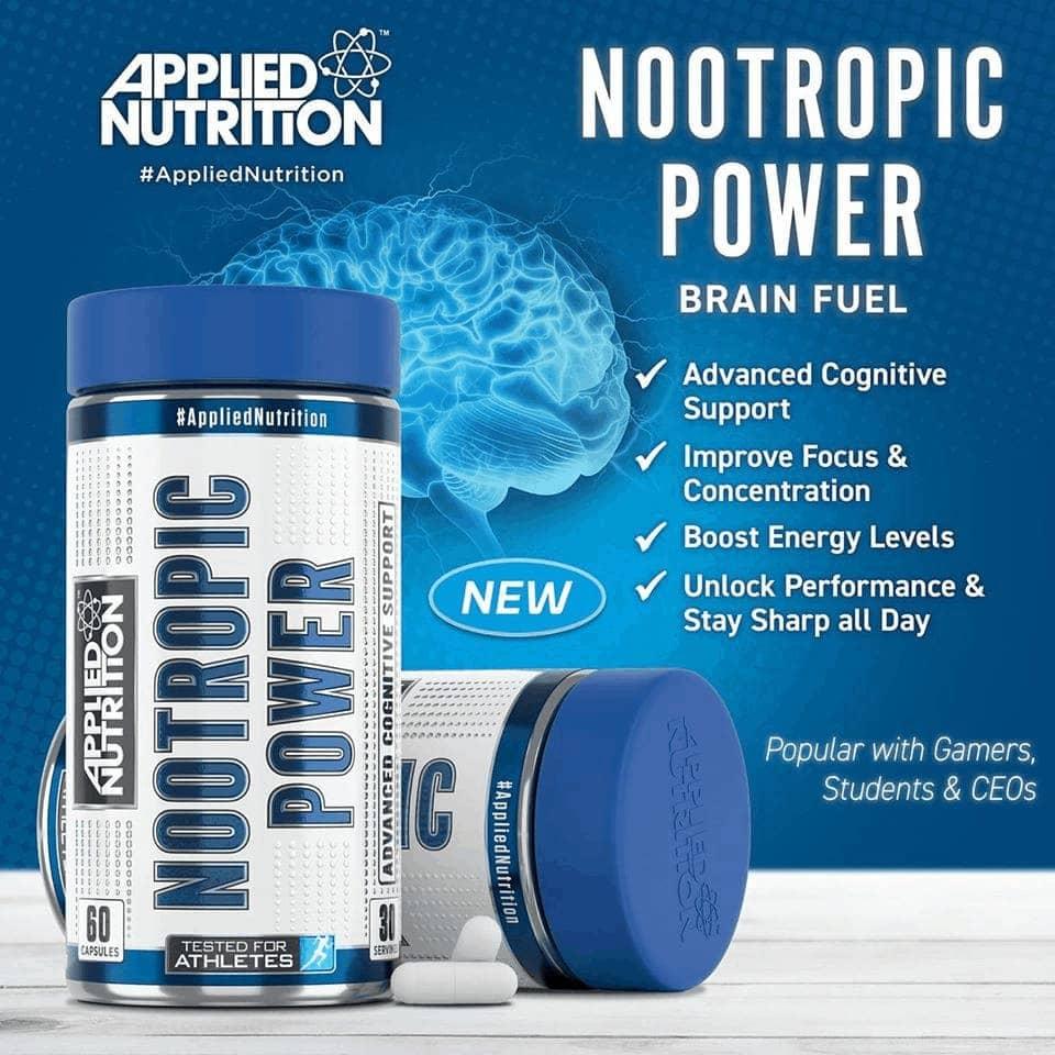 Applied Nutrition - Nootropic Power (60 viên) - 78551146 10158598587703514 66638