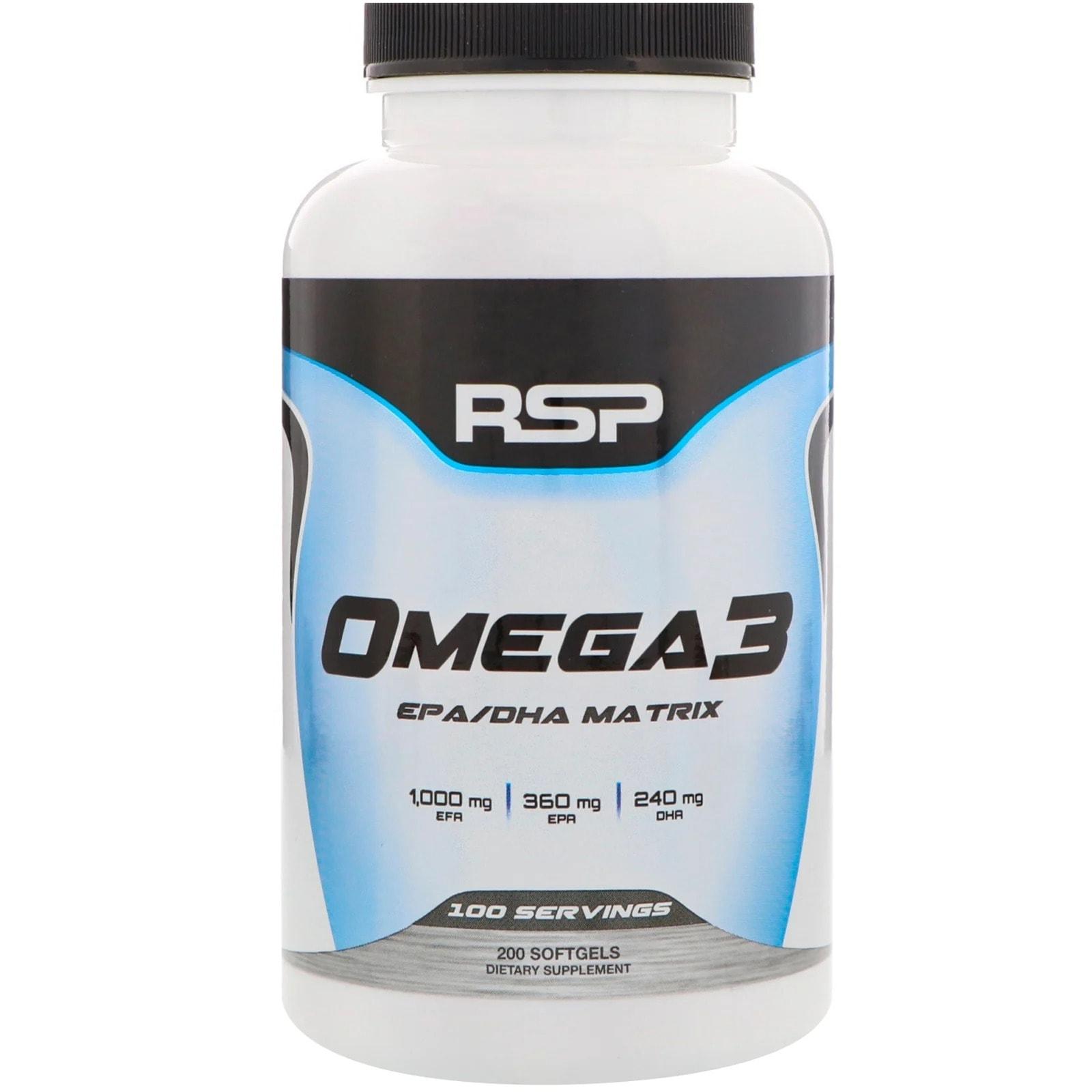RSP - Omega 3 (200 viên) - 8