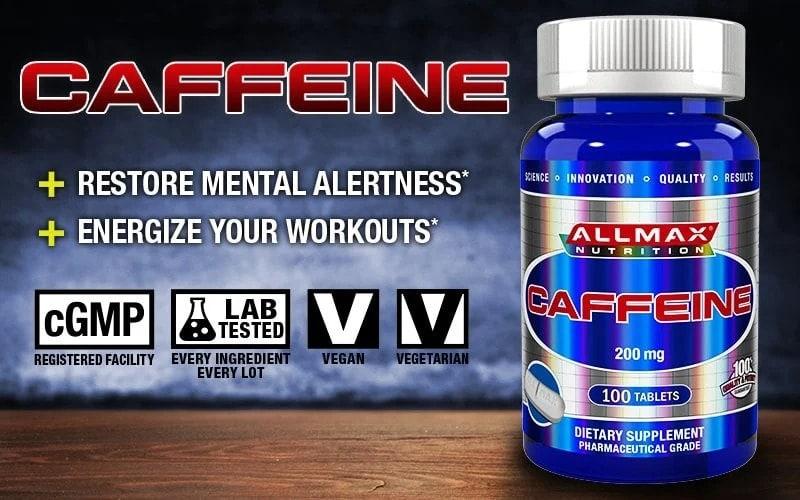 AllMax Nutrition - Caffeine (100 viên) - caffeine