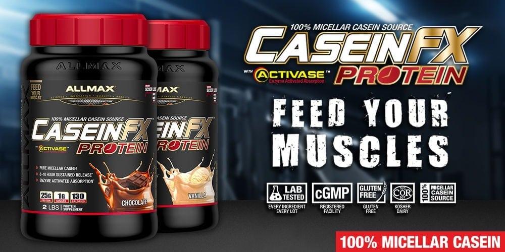 AllMax Nutrition - Casein-FX (2 Lbs) - casein2 1