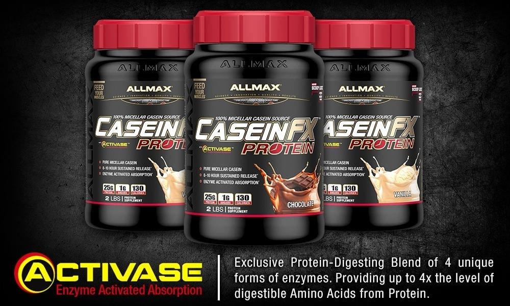 AllMax Nutrition - Casein-FX (2 Lbs) - caseingain