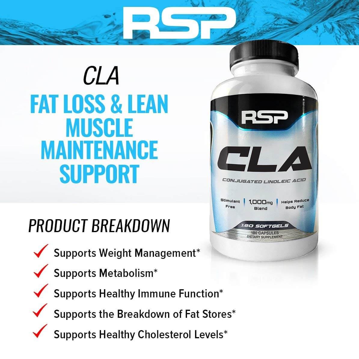 RSP - CLA (180 viên) - cla 90 caps