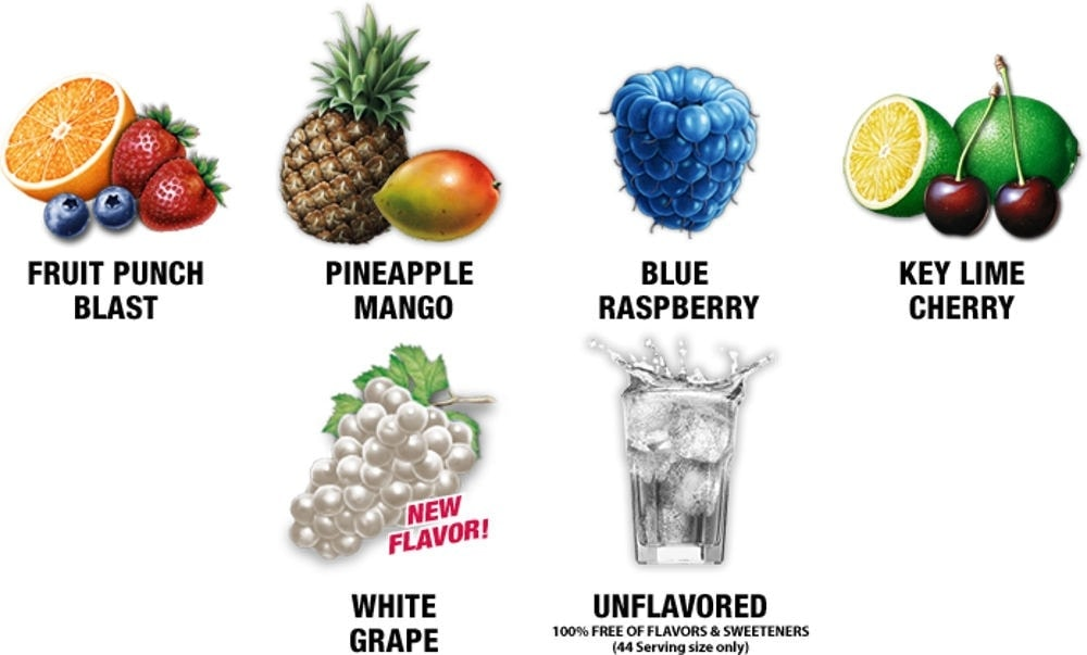 AllMax Nutrition - AminoCore (30 lần dùng) - flavoursaminocore3