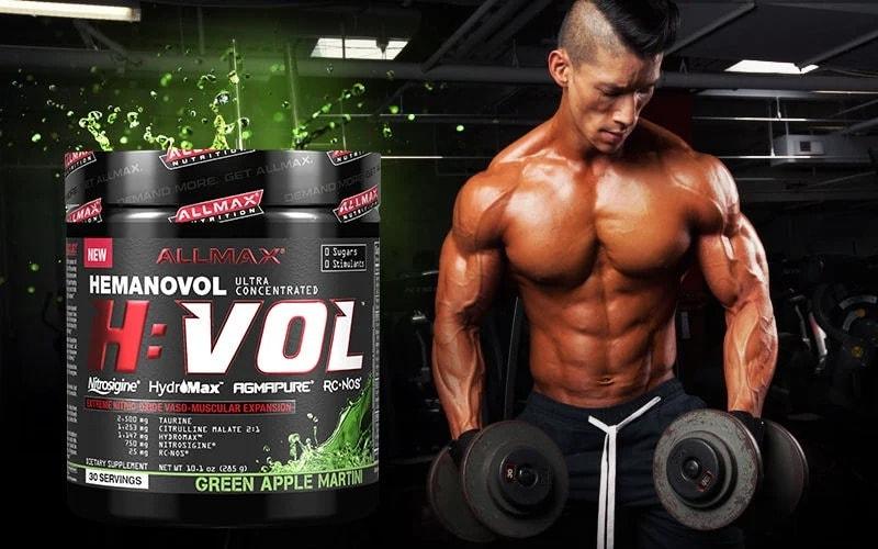 AllMax Nutrition - H:VOL (30 lần dùng) - hvol ad