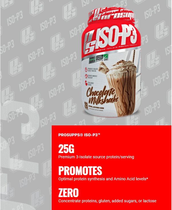 ProSupps - ISO P3 (5 lbs) - issoppp