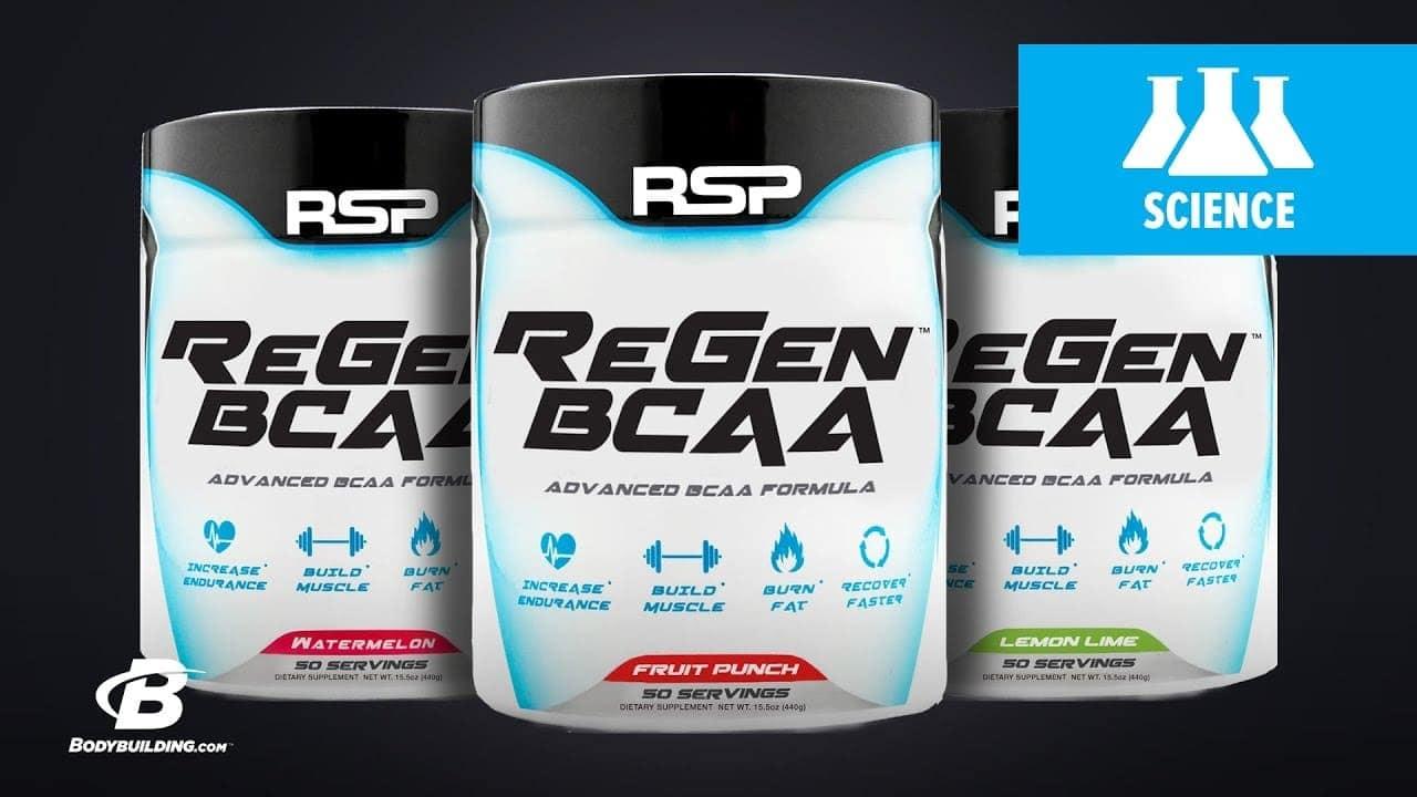 RSP - ReGen BCAA (30 lần dùng) -