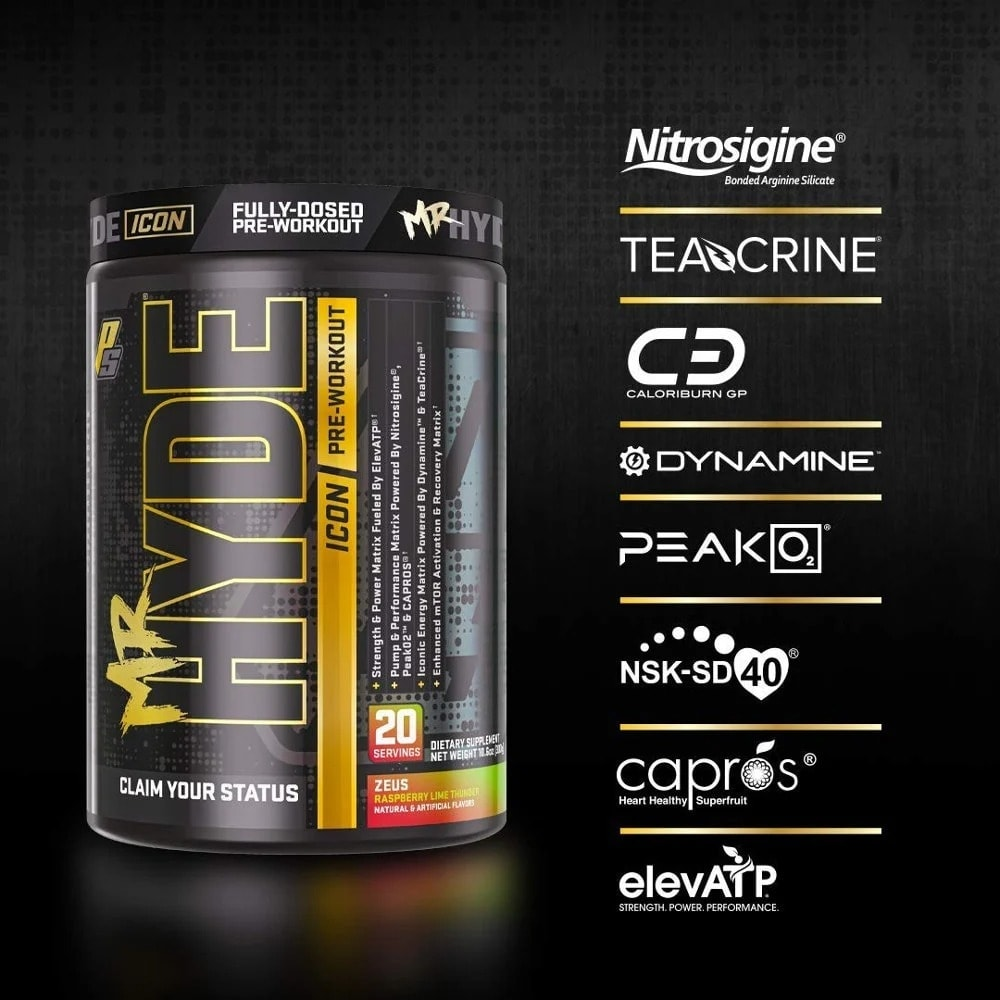 ProSupps - Mr. Hyde Icon (20 lần dùng) - mr hyde icon