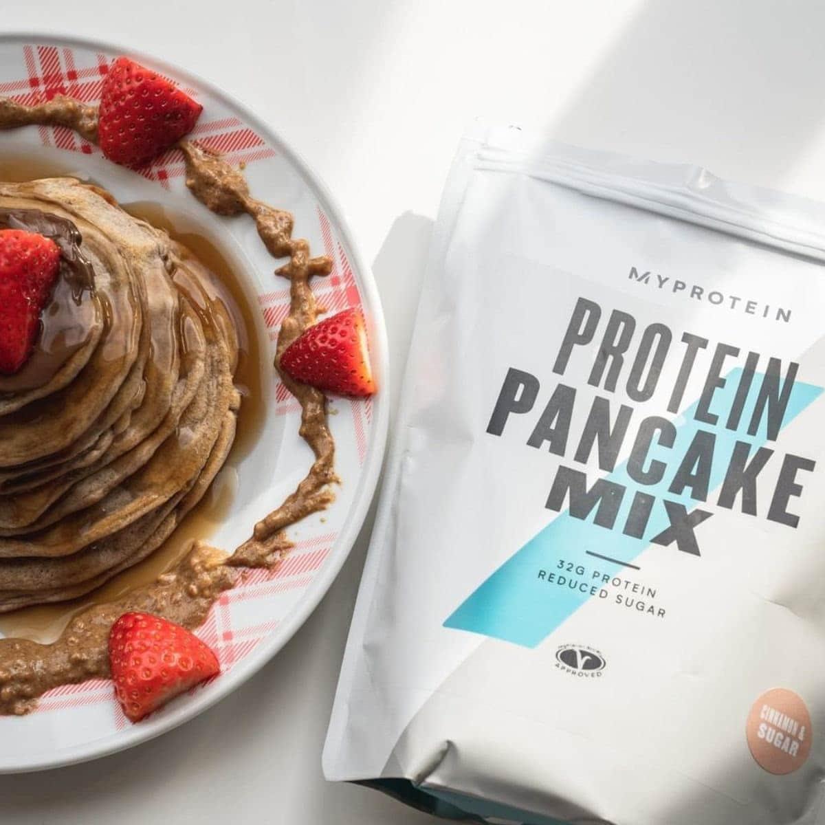 Myprotein - Protein Pancake Mix (1KG) - myprotein protein pancake stack