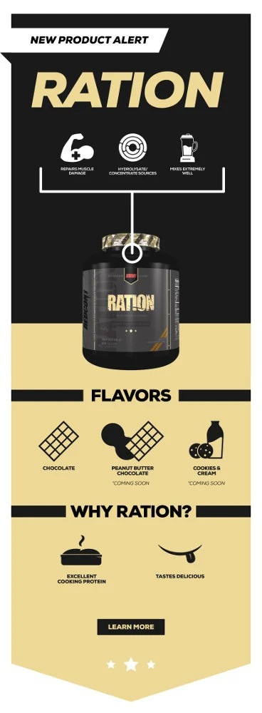 Redcon1 - Ration (Sample) - nl rationinfographic