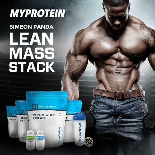 Myprotein - Impact Protein Blend (2.5KG) - simeon panda lean mass stack v2