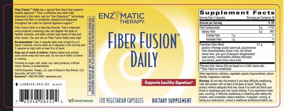 Nature's Way - Fiber Fusion Daily (120 viên) - 0845294303 jpg