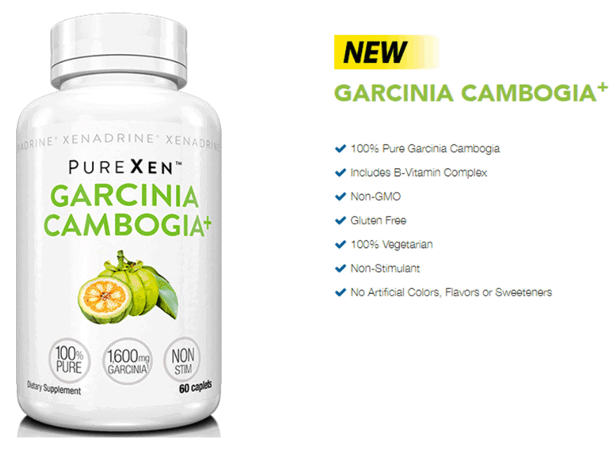 Xenadrine - PureXen Garcinia Cambogia+ (60 viên) - 1 3