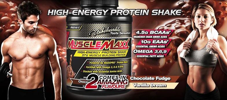 MuscleMaxx - High Energy Protein Shake (5 Lbs) - 159152 1