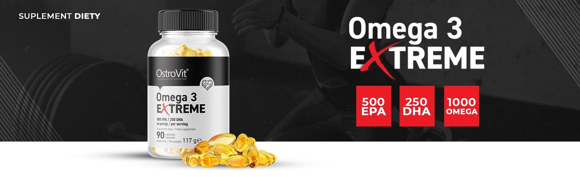 OstroVit - Omega 3 Extreme (90 viên) - 1595838995