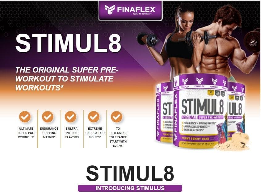 Finaflex - Stimul8 (40 lần dùng) - 2