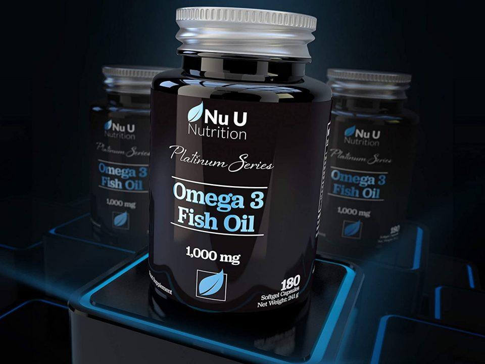 Nu U Nutrition - Platinum Series Omega 3 Fish Oil (180 viên) - 711l7weyg9l ac sl1500 960x720 1