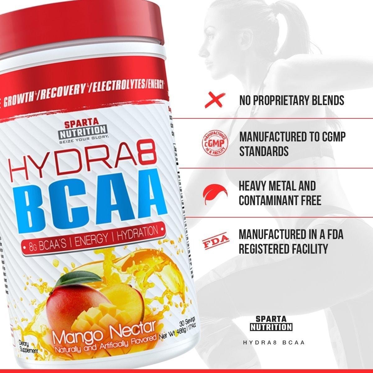 Sparta Nutrition - Hydra8 BCAA (30 lần dùng) - 716sxfctbwl sl1200