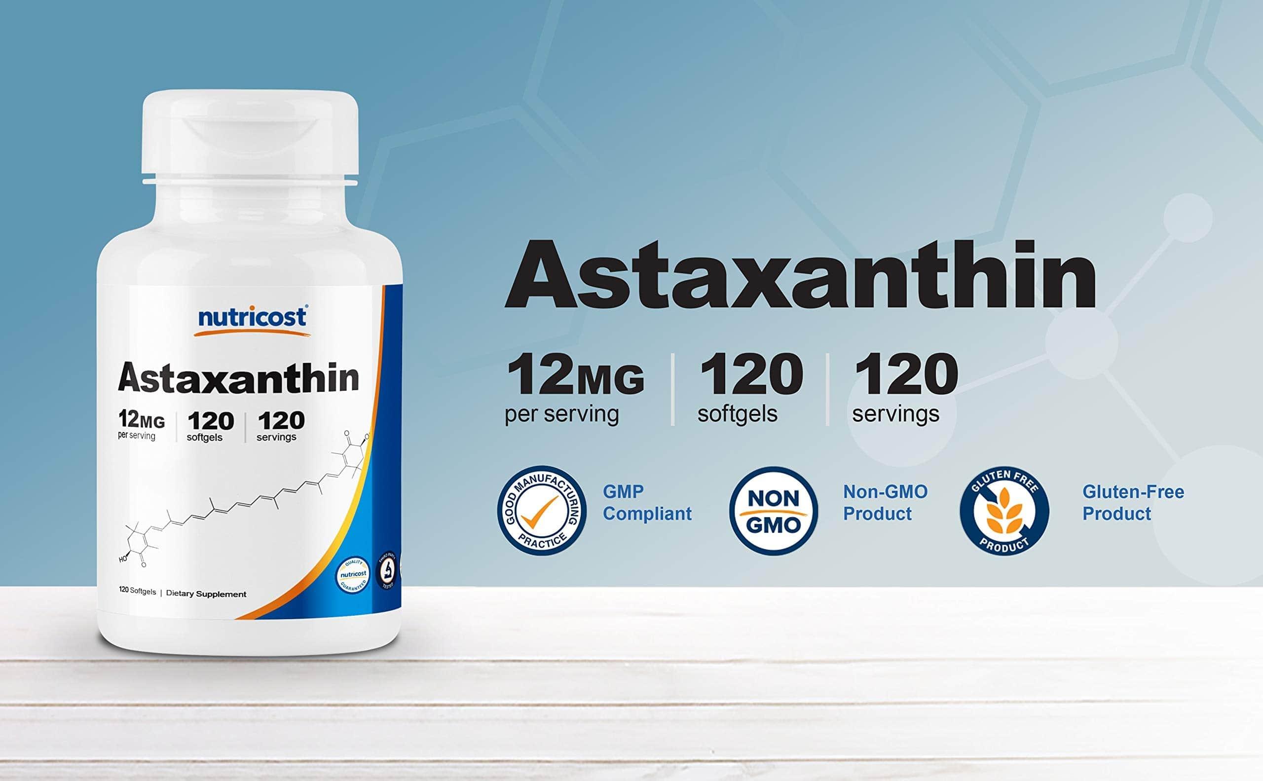 Nutricost - Astaxanthin 12mg (120 viên) - 71adttmpwzl