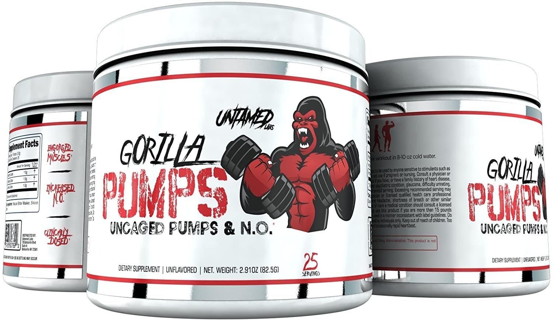 Untamed Labs - Gorilla Pumps (25 lần dùng) - 71efv5pqpsl ac sl1500