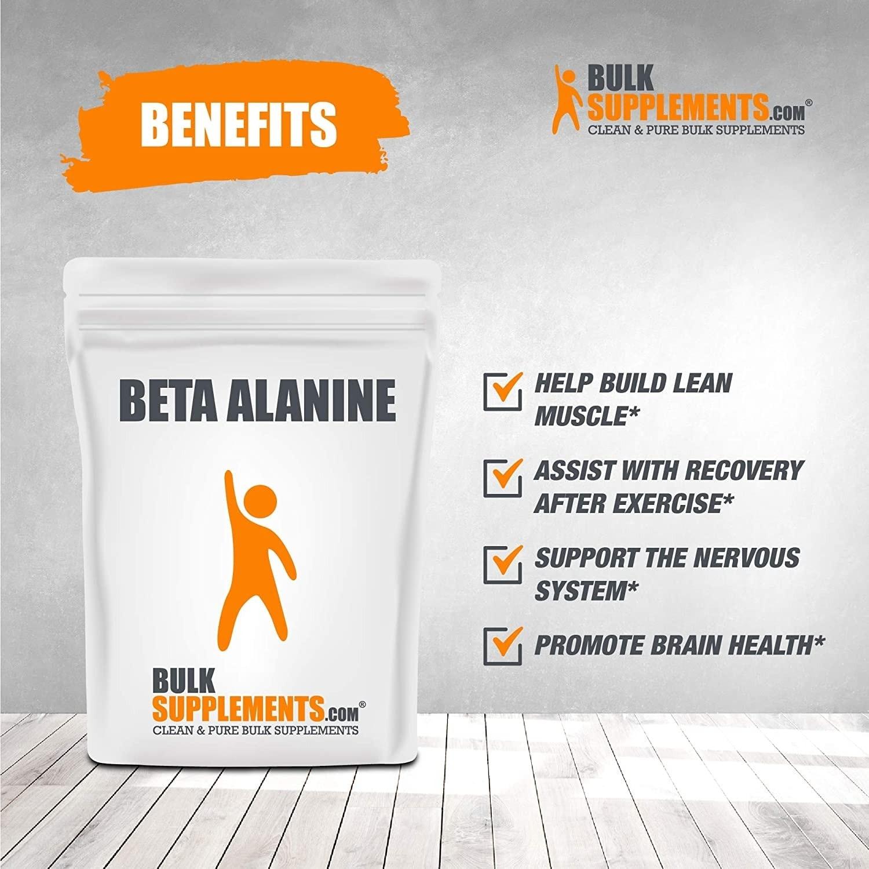 Bulk Supplements - Beta Alanine (500 gram) - 81wwmljdx7l ac sl1500