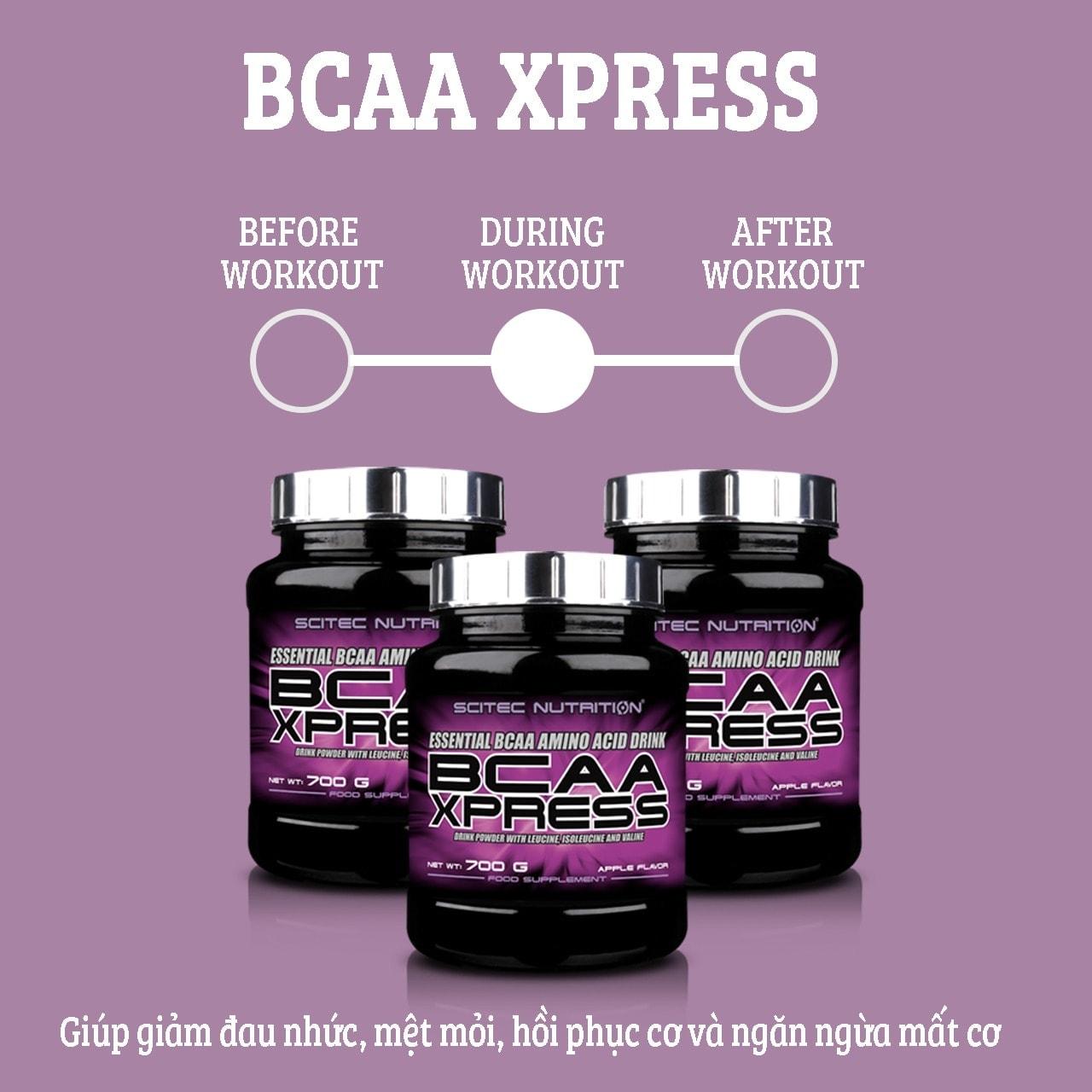 Scitec Nutrition - BCAA Xpress (100 lần dùng) - 90061556 3084926958208330 700999
