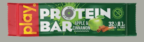 Bánh Play Nutrition Protein Bar (Thanh 45g) - apple cinnamon tag