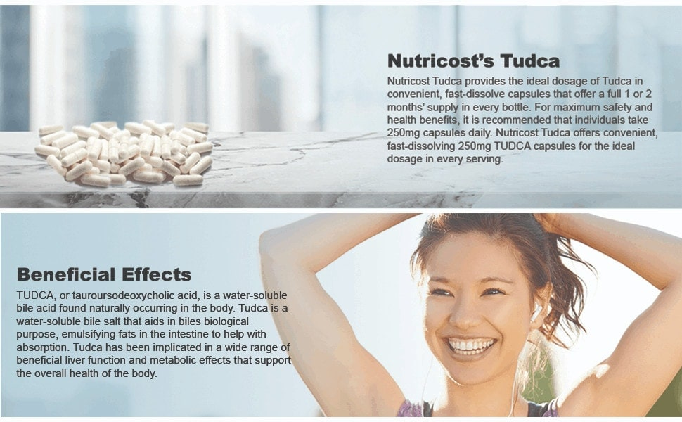 Nutricost - TUDCA 250mg (60 viên) - asd