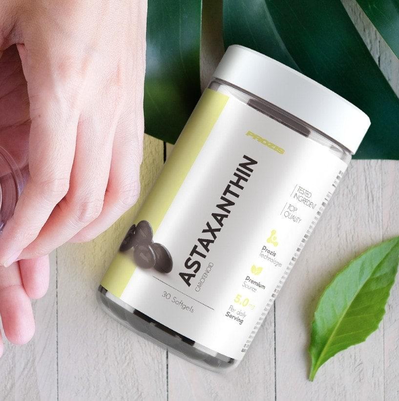 Prozis - Astaxanthin 5 mg (30 viên) - astha