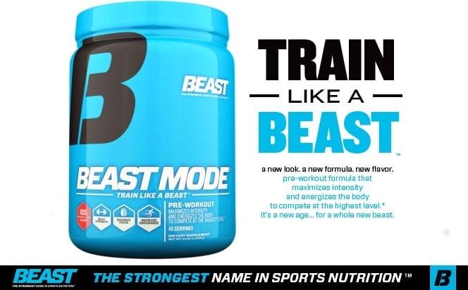 Beast Sports - Beast Mode (30 lần dùng) - beastbannerblack
