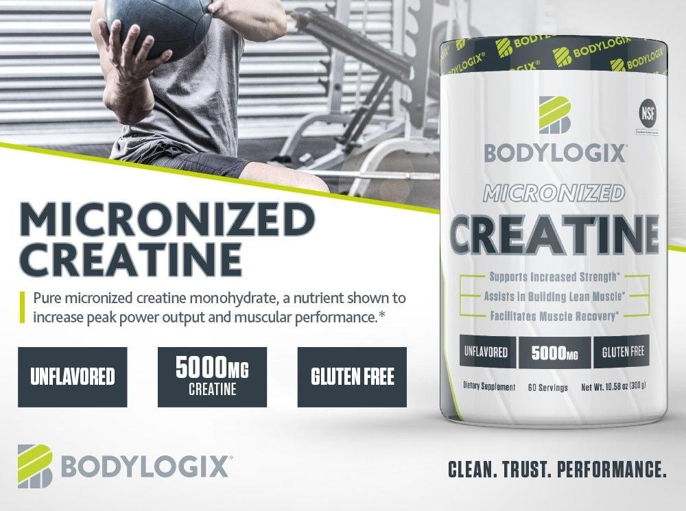 Bodylogix - Micronized Creatine (60 lần dùng) - bodylogix m s 1000x745 creatine