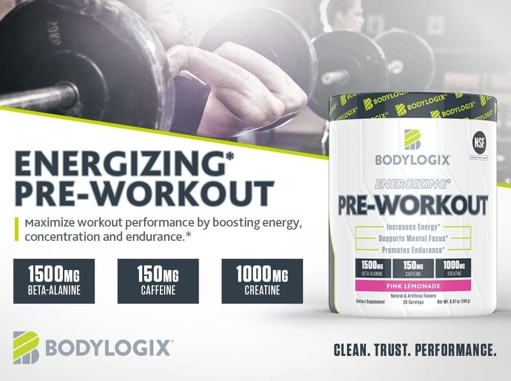 Bodylogix - Energizing Pre-Workout (30 lần dùng) - bodylogix m s 1000x745 energizin