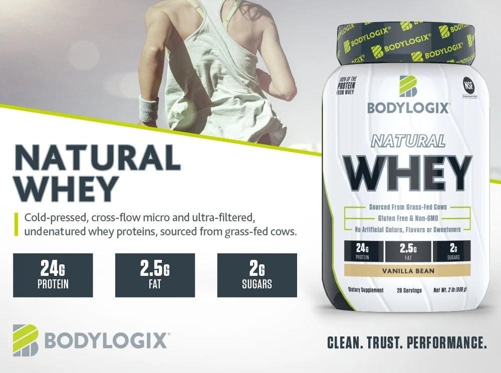 Bodylogix - Natural whey (Sample) - bodylogix m s 1000x745 natural