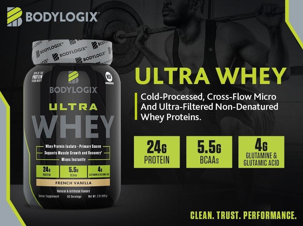 Bodylogix - Ultra Whey (4 Lbs) - bodylogix m s 1000x745 ultra whe