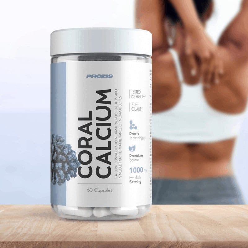 Prozis - Coral Calcium 1000 mg (60 viên) - calcium 800x800 1
