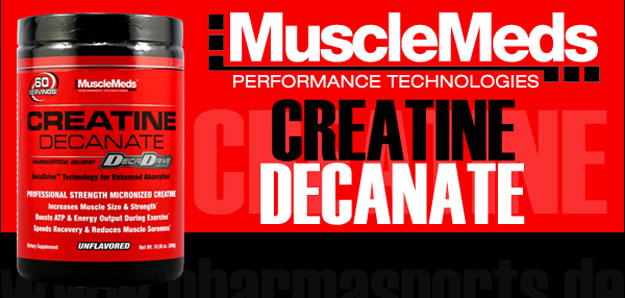 MuscleMeds - Creatine Decanate (150g) - creatine decanate banner