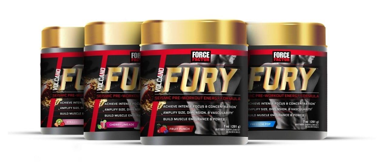 Force Factor - Volcano Fury (30 lần dùng) - fury main