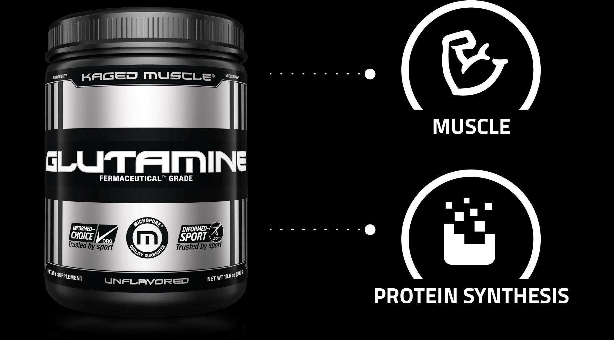 Kaged Muscle – Glutamine Powder (300gram) - glutamine 2 d4e13bf1 5f91 4a4e 9