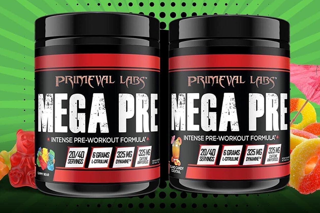 Primeval Labs - Mega Pre Black (40 lần dùng) - gummy bear mega pre black