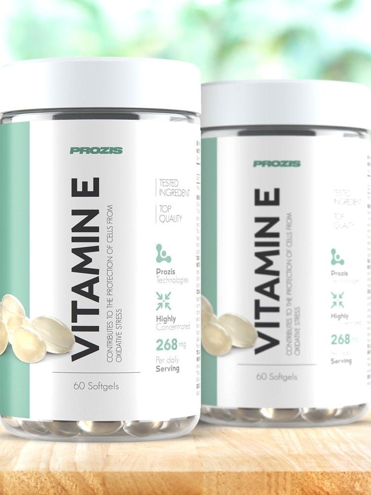 Prozis - Vitamin E 400iu (60 viên) - hinh 1 10
