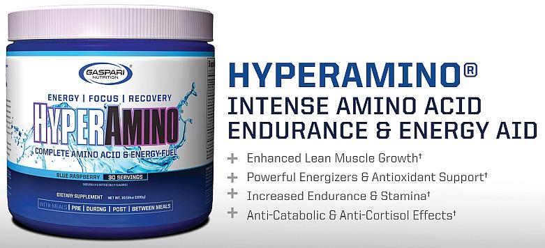 Gaspari - Hyper Amino (30 lần dùng) - hyperamino sellsheet