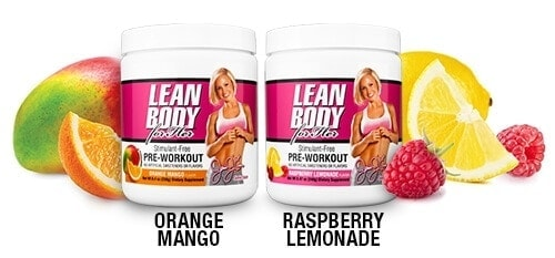 Labrada - Lean Body For Her Pre-Workout (30 lần dùng) - jamie flavor